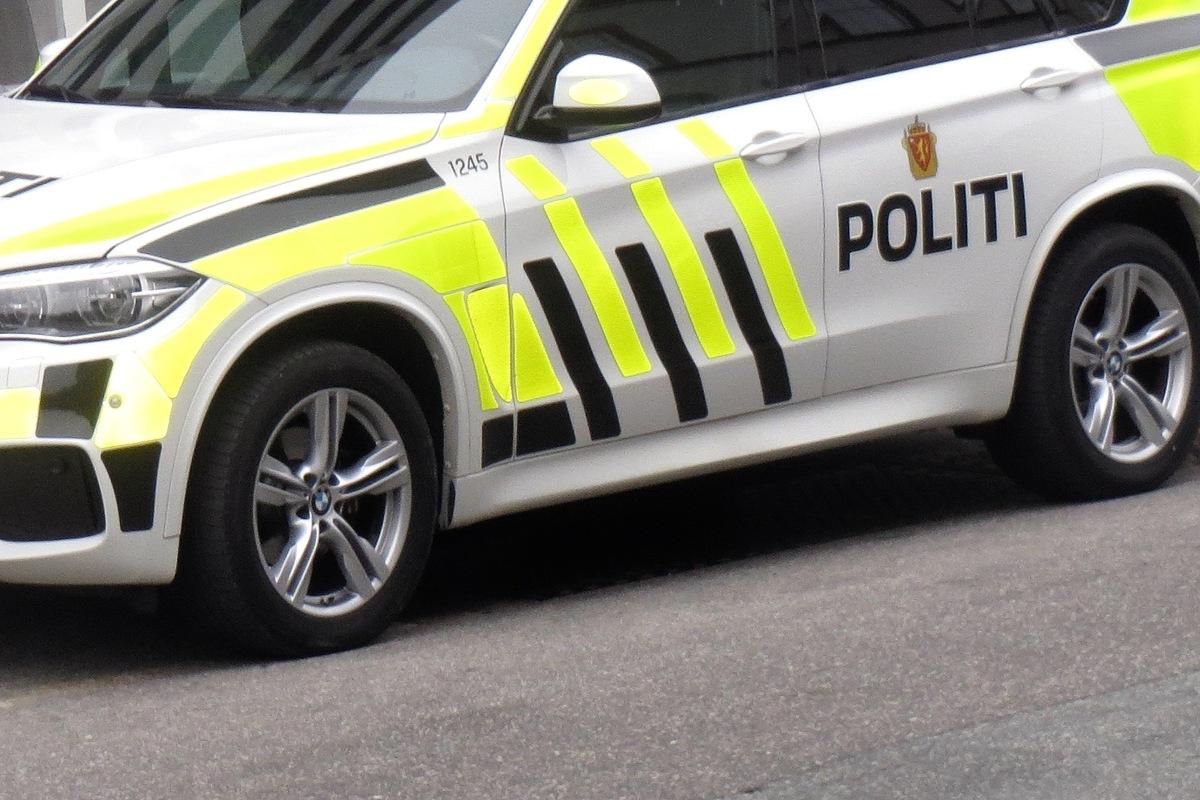 Politi med udrykning i Nysted
